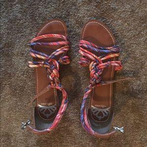 NWOT Fergalicious Sandals